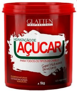Glatten Professional - Reconstrução de Açúcar Máscara 1kg
