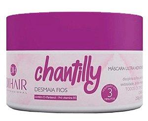 Dihair - Desmaia Fios Chantilly 250g Máscara Ultra Hidratante
