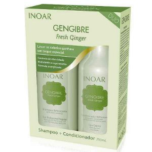 Inoar - Gengibre kit Shampoo e Condicionador 250ml cada Fresh Ginger