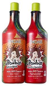 Inoar - Bombar Kit Shampoo + Condicionador 1L