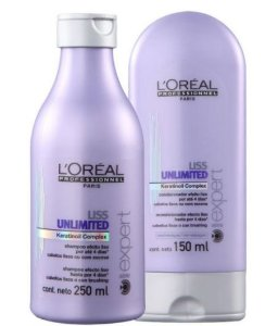 L' Oréal - Liss Unilimited Kit Shampoo 250ml + Condicionador 150ml