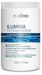Plancton - Ilumina Pó Descolorante Clareamento Ultra Rápido 500g