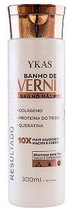 Ykas Hair Technology - Banho de Verniz Shampoo Brilho Maximo 300ml