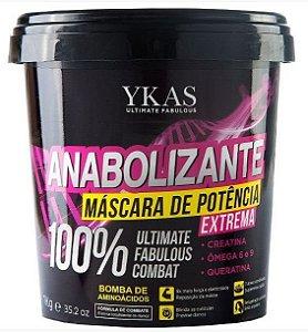 Ykas Hair Technology - Anabolizante Máscara de Potência 100% Extrema 1 kg
