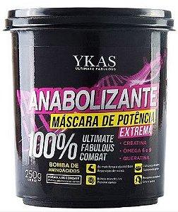 Ykas Hair Technology - Anabolizante Máscara de Potência 100% Extrema 250g