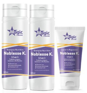 Magic Color - Noblesse k Kit Shampoo + Condicionador + Leave-in