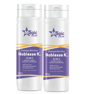 Magic Color - Noblesse K Shampoo + Condicionador 300ml cada