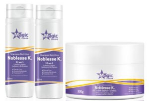 Magic Color - Noblesse K Kit Shampoo + Condicionador + Máscara 300g