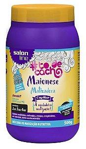 Salon Line - #TodeCacho Máscara Maionese Matizadora Capilar 500g