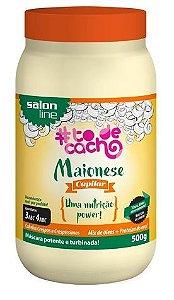 Salon Line - #TodeCacho Máscara Maionese Capilar Nutrição Power 500g