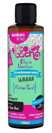Salon Line - #TodeCacho Tratamento  UAUUU Rícino Puro Óleo de Umectação