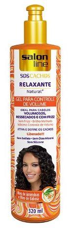 Salon Line - S.O.S Relaxante Natural Gel Para Controle de Volume 320 ml