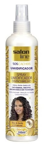 Salon Line - SOS Cachos Spray Umidificador Divino Brilho 300 ml