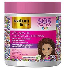 Salon Line - SOS Cachos Kids Máscara de Hidratação Intensa 500g