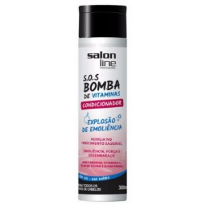 Salon Line - SOS Bomba de Vitaminas Explosão de Emoliência Condicionador 300ml