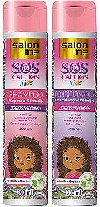 Salon Line - SOS Cachos Kids Shampoo 300ml + Condicionador 300ml