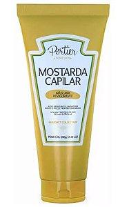 Portier -  Gourmet Collection Mostarda Capilar Máscara Revigorante 250g Linha Gourmet