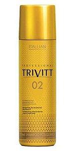 Itallian Hairtech - Trivitt 02 Shampoo Pós-Química 250ml