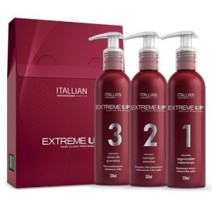 Itallian Hairtech - Extreme UP Kit Hair Clinic 3 Passos 230ml cada