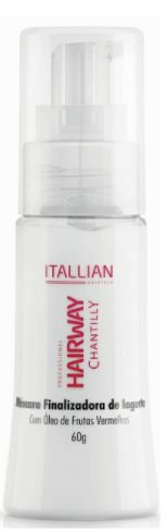 Itallian Hairtech - Hairway Chantilly Máscara Finalizadora de Iorgute 60g