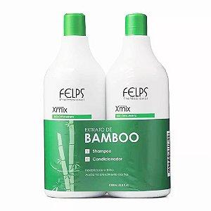 Felps - Xmix Bio Crescimento Extrato de Bamboo Shampoo + Condicionador 1l cada