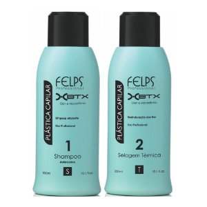 Felps - Plástica Capilar Xbtx Redutor de Volume 2 Passos 300ml cada