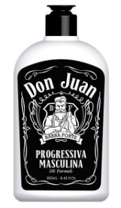 Barba Forte - Don Juan Progressiva Masculina 0% Formol 300ml