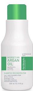 For Beauty - Moroccan Argan Oil Shampoo Reconstrutor 300ml