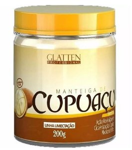 Glatten Professional - Manteiga de Cupuaçu Máscara 200g