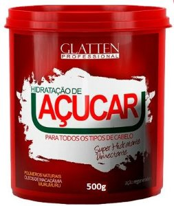 Glatten Professional - Reconstrução de Açúcar Máscara 500g