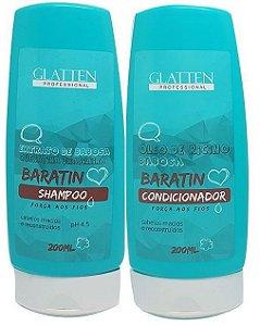 Glatten - Baratin Shampoo + Condicionador 200ml cada