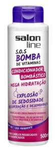 Salon Line - SOS Bomba de Vitaminas Condicionador Bombástico Explosão de Sedosidade 300ml