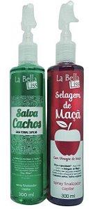La Bella Liss - Kit Salva Cachos + Selagem de Maçã 300ml cada