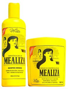 Portier - Mealiza Kit Shampoo Cremoso + Máscara 2x500g