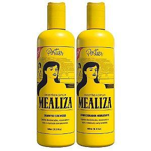Portier - Mealiza Kit Shampoo Cremoso + Condicionador Hidratante 500ml cada