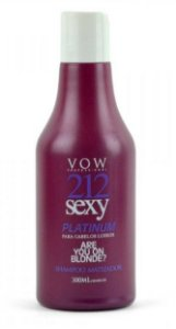Vow Professional - 212 Sexy Platinum Shampoo 300ml