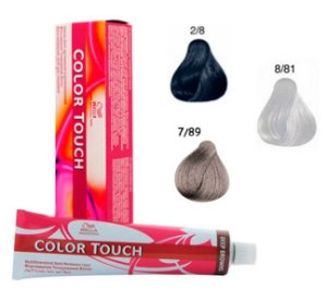 Wella - Color Touch Rich Naturals Cores 2.8 / 7.89 / 8.81