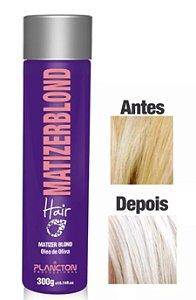 Plancton - Matizer Hair Blond 300g Máscara Matizadora Loiro - Validade 05/2019