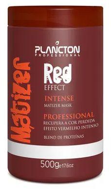 Plancton - Matizer Hair Red 500g Máscara Matizadora Vermelho
