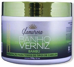 Glamurosa - Banho de Verniz Bambu Máscara Hidratante 350g