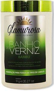 Glamurosa - Banho de Verniz Bambu Máscara Hidratante 1kg