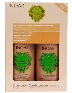 Inoar - Kit Duo Macadâmia Oil Premium (Shampoo 250ml + Condicionador 250ml)