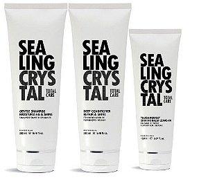Felithi - Sealing Crystal Kit Cristalização dos Fios Shampoo, Condicionador Bálsamo
