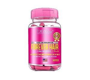 Forever Liss - Forever Hair Suplemento Vitamínico Crescimento Capilar Tratamento 30 Dias
