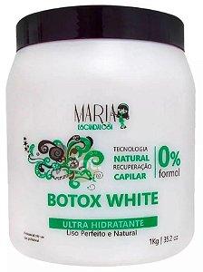 Maria Escandalosa - Botox White Creme Alisante Sem Formol 1kg