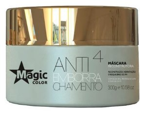 Magic Color - Antiemborrachamento 4 Máscara Reconstrutora 300G