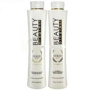Beauty Impressive - Escova Progressiva Gold Plus 1L cada
