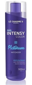 Lé Charme's - Intensy Color Roxo Máscara Matizadora Efeito Platinado 500ml NOVA EMBALAGEM