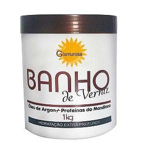 Glamurosa - Banho de Verniz Argan e Proteínas de Mandioca 1kg