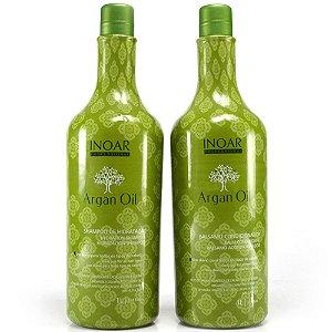 Inoar - Argan Oil System Kit Duo Shampoo e Bálsamo Condicionador 1L cada
